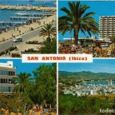 Postales: IBIZA, SAN ANTONIO, VARIAS VISTAS - EXCLUSIVAS CASA FIGUERETAS Nº 384 - S/C. Lote 112736327