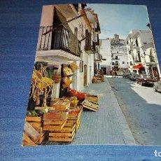 Postales: POSTAL DE IBIZA. 246. CIUDAD. CALLE TÍPICA. CASA FIGUERETAS. CIRCULADA. Lote 112772215