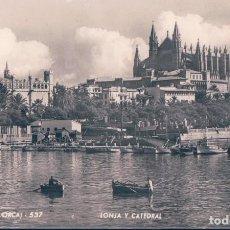 Postales: POSTAL PALMA DE MALLORCA 537 - LONJA Y CATEDRAL - ROTGER. Lote 112855747