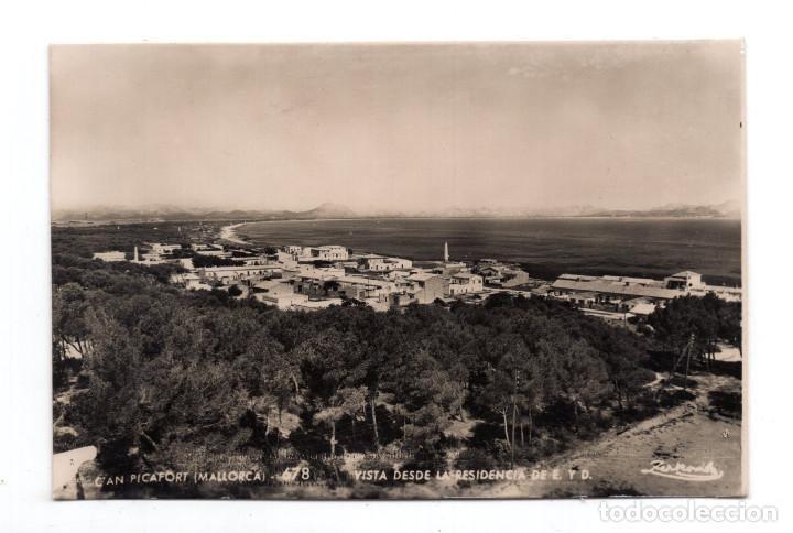 CAN PICAFORT (MALLORCA).- VISTA DESDE LA RESIDENCIA DE E Y D (Postales - España - Baleares Moderna (desde 1.940))