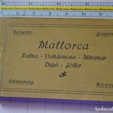 Postales: LIBRITO DE 20 POSTALES DE MALLORCA. AÑOS 10 30. PALMA VALLDEMOSA MIRAMAR DEYÁ SOLLER CASA TRUYOL 506. Lote 112932299