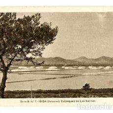 Postales: BALEARES IBIZA ESTANQUES DE LAS SALINAS ED. FOTO VIÑETS. SIN CIRCULAR. Lote 113052163