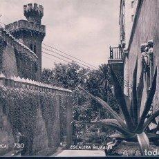 Postales: POSTAL PALMA DE MALLORCA 730 - ESCALERA MURALLA - ZERKOWITZ. Lote 113054551