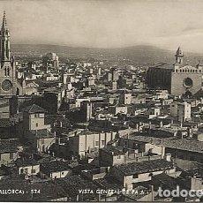 Postales: X117624 ISLAS BALEARES PALMA DE MALLORCA VISTA GENERAL DE PALMA . Lote 113140799