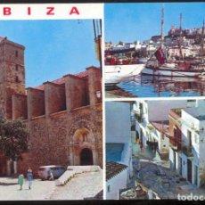 Postales: 275 - IBIZA (BALEARES).- DETALLES DE LA CIUDAD.. Lote 113471479