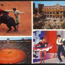 Postales: 11.030 - TOROS Y FOLKLORE ANDALUZ .- PALMA DE MALLORCA. Lote 114787567
