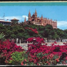 Postales: MALLORCA - PALMA .- LA CATEDRAL, DESDE EL DESEMBARCADERO. Lote 115088155