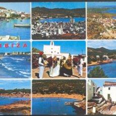 Postales: 261 - IBIZA (BALEARES).- DIFERENTES VISTAS DE LA ISLA. Lote 115089291