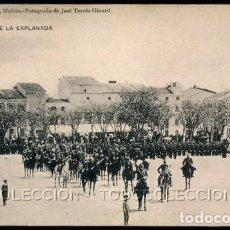 Postales: POSTAL MAHON PLAZA DE LA EXPLANADA . REMIGIO ALEJANDRE - JOSE TERRES GINARD - HAUSER Y MENET CA 1910. Lote 115120343