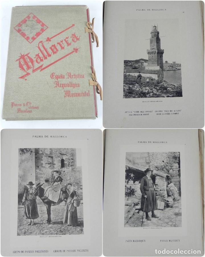 ALBUM DE MALLORCA ARTÍSTICA ARQUEOLÓGICA MONUMENTAL. ED. PARERA Y CIA. 1898, NUEVA EDICIÓN DEL ALBUM (Postales - España - Baleares Antigua (hasta 1939))
