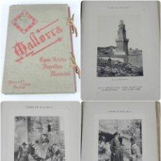Postales: ALBUM DE MALLORCA ARTÍSTICA ARQUEOLÓGICA MONUMENTAL. ED. PARERA Y CIA. 1898, NUEVA EDICIÓN DEL ALBUM. Lote 115167299