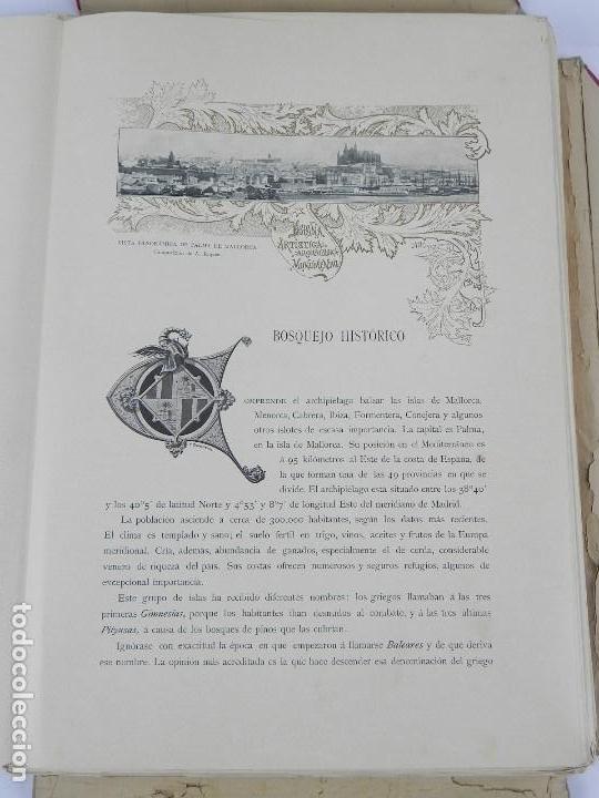 Postales: ALBUM DE MALLORCA ARTÍSTICA ARQUEOLÓGICA MONUMENTAL. ED. PARERA Y CIA. 1898, Nueva edición del album - Foto 17 - 115167299