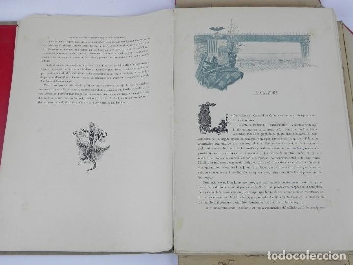 Postales: ALBUM DE MALLORCA ARTÍSTICA ARQUEOLÓGICA MONUMENTAL. ED. PARERA Y CIA. 1898, Nueva edición del album - Foto 18 - 115167299