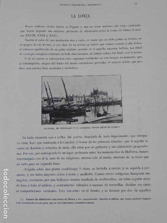 Postales: ALBUM DE MALLORCA ARTÍSTICA ARQUEOLÓGICA MONUMENTAL. ED. PARERA Y CIA. 1898, Nueva edición del album - Foto 19 - 115167299