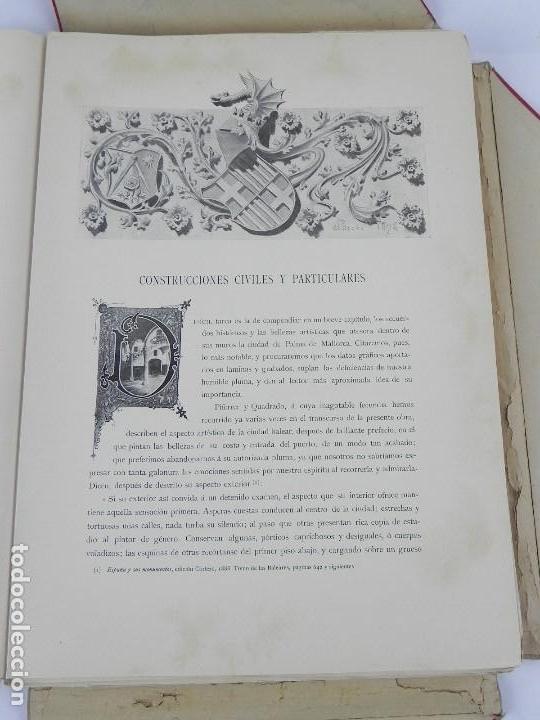 Postales: ALBUM DE MALLORCA ARTÍSTICA ARQUEOLÓGICA MONUMENTAL. ED. PARERA Y CIA. 1898, Nueva edición del album - Foto 20 - 115167299