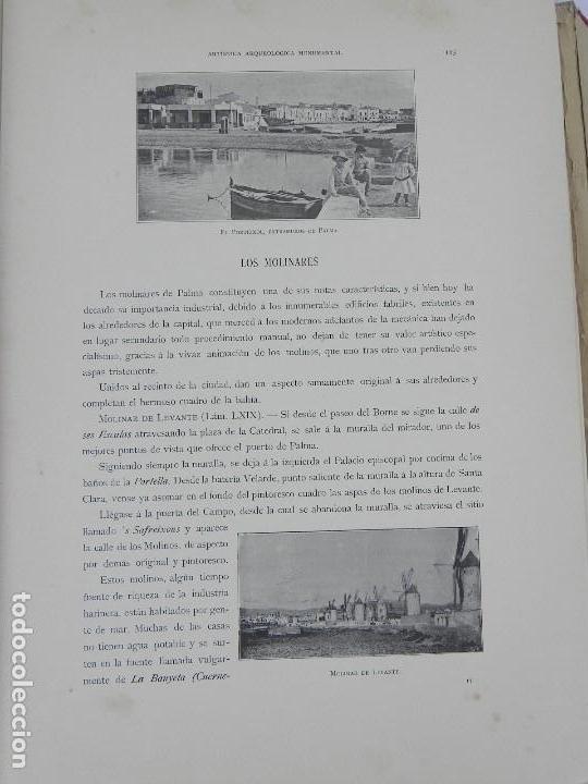 Postales: ALBUM DE MALLORCA ARTÍSTICA ARQUEOLÓGICA MONUMENTAL. ED. PARERA Y CIA. 1898, Nueva edición del album - Foto 22 - 115167299