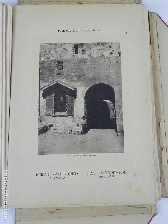 Postales: ALBUM DE MALLORCA ARTÍSTICA ARQUEOLÓGICA MONUMENTAL. ED. PARERA Y CIA. 1898, Nueva edición del album - Foto 10 - 115167299