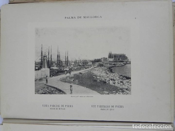 Postales: ALBUM DE MALLORCA ARTÍSTICA ARQUEOLÓGICA MONUMENTAL. ED. PARERA Y CIA. 1898, Nueva edición del album - Foto 11 - 115167299