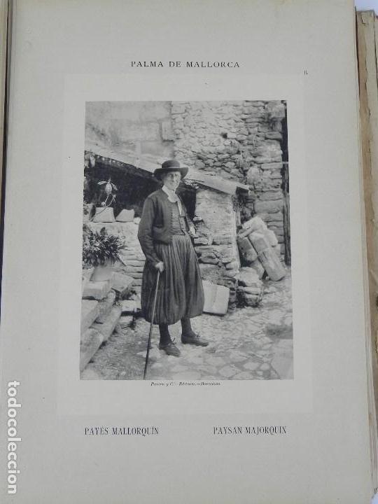 Postales: ALBUM DE MALLORCA ARTÍSTICA ARQUEOLÓGICA MONUMENTAL. ED. PARERA Y CIA. 1898, Nueva edición del album - Foto 9 - 115167299