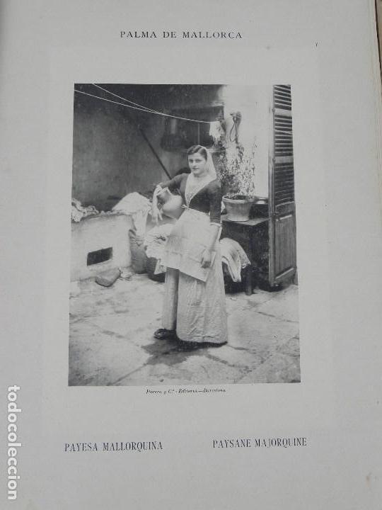 Postales: ALBUM DE MALLORCA ARTÍSTICA ARQUEOLÓGICA MONUMENTAL. ED. PARERA Y CIA. 1898, Nueva edición del album - Foto 12 - 115167299