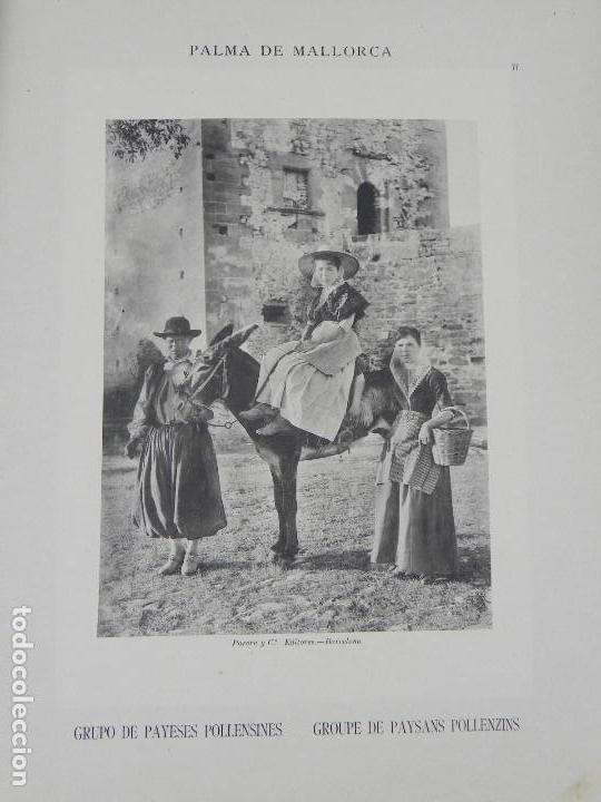 Postales: ALBUM DE MALLORCA ARTÍSTICA ARQUEOLÓGICA MONUMENTAL. ED. PARERA Y CIA. 1898, Nueva edición del album - Foto 8 - 115167299