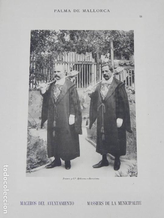 Postales: ALBUM DE MALLORCA ARTÍSTICA ARQUEOLÓGICA MONUMENTAL. ED. PARERA Y CIA. 1898, Nueva edición del album - Foto 7 - 115167299