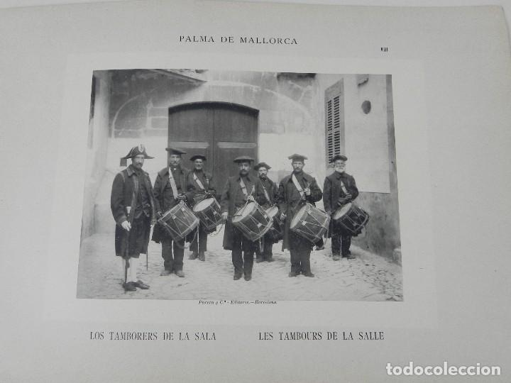 Postales: ALBUM DE MALLORCA ARTÍSTICA ARQUEOLÓGICA MONUMENTAL. ED. PARERA Y CIA. 1898, Nueva edición del album - Foto 4 - 115167299