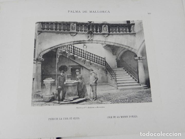 Postales: ALBUM DE MALLORCA ARTÍSTICA ARQUEOLÓGICA MONUMENTAL. ED. PARERA Y CIA. 1898, Nueva edición del album - Foto 13 - 115167299
