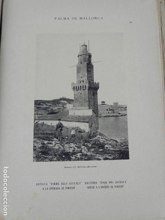 Postales: ALBUM DE MALLORCA ARTÍSTICA ARQUEOLÓGICA MONUMENTAL. ED. PARERA Y CIA. 1898, Nueva edición del album - Foto 14 - 115167299