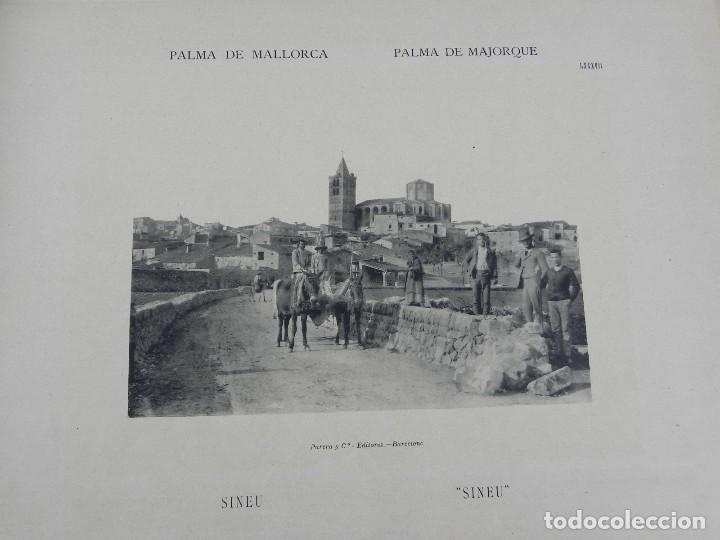 Postales: ALBUM DE MALLORCA ARTÍSTICA ARQUEOLÓGICA MONUMENTAL. ED. PARERA Y CIA. 1898, Nueva edición del album - Foto 15 - 115167299