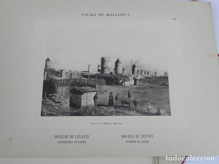 Postales: ALBUM DE MALLORCA ARTÍSTICA ARQUEOLÓGICA MONUMENTAL. ED. PARERA Y CIA. 1898, Nueva edición del album - Foto 5 - 115167299