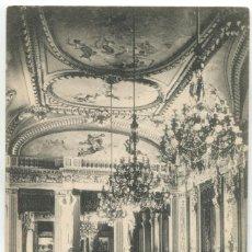 Cartes Postales: PALMA DE MALLORCA. GRAN SALÓN DEL CIRCULO MALLORQUIN, UNIÓN POSTAL UNIVERSAL. FOT. LACOSTE. Lote 153174014