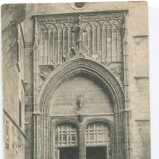 Cartes Postales: PALMA DE MALLORCA. PORTADA DE LA CATEDRAL. FOT. LACOSTE, 9. Lote 115283151