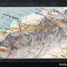 Postales: MAPA TURISTICO DE LAS ISLAS BALEARES. Lote 115316423