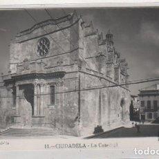 Postales: 11 CIUDADELA LA CATEDRAL. FOTO HERNANDO. CIRCULADA AÑOS 50. Lote 115904043