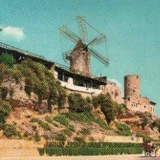 Postales: PALMA MALLORCA MOLINOS JACK EL NEGRO (SIN CIRCULAR). Lote 116464995