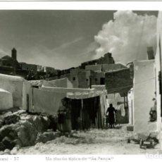 Postales: IBIZA (BALEARES). UN RINCÓN TÍPICO DE 'SA PEÑA'.EDICIÓN VIÑETS Nº 17. FOTOGRÁFICA. Lote 116731431