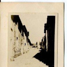 Postales: POLLENSA- FOTOGRÁFICA- ESCALERAS EL CALVARI- MUY RARA. Lote 116960007