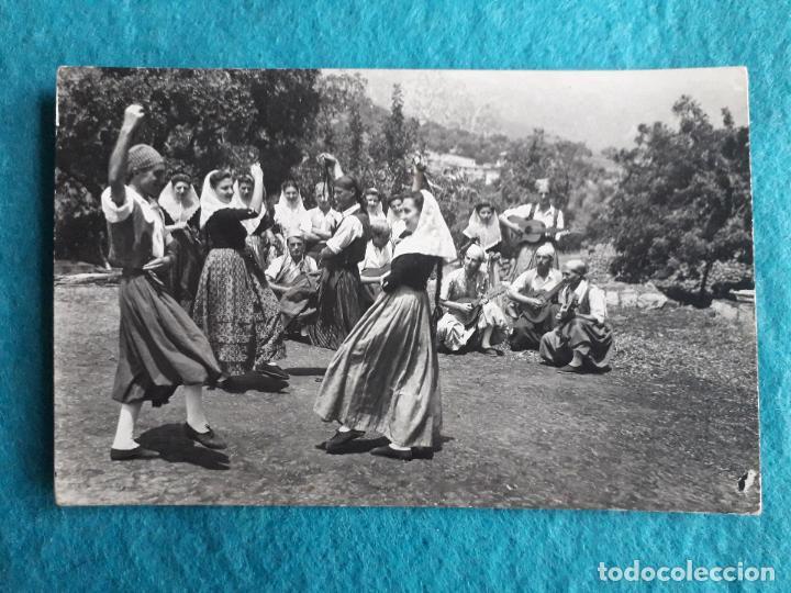 MALLORCA. BAILES TÍPICOS. ESCRITA EL 20 DE AGOSTO DE 1953. (Postales - España - Baleares Moderna (desde 1.940))
