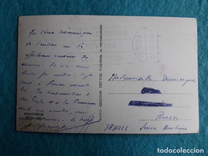 Postales: Mallorca. Bailes Típicos. Escrita el 20 de Agosto de 1953. - Foto 2 - 117706087