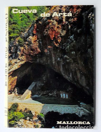 GRUPO DE 11 POSTALES CUEVAS DE ARTA, PALMA DE MALLORCA, AÑO 1963 (Postales - España - Baleares Moderna (desde 1.940))