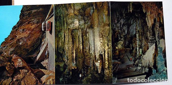 Postales: Grupo de 11 postales Cuevas de arta, Palma de Mallorca, año 1963 - Foto 2 - 117730159