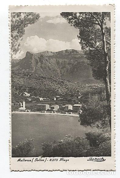 X117986 ISLAS BALEARES MALLORCA SOLLER PLAYA (Postales - España - Baleares Moderna (desde 1.940))