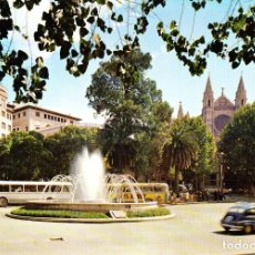 Postales: MALLORCA - PALMA -PLAZA DE LA REINA Y CATEDRAL- (A.SUBIRATS CASANOVAS Nº 1600) SIN CIRCULAR / P-3304. Lote 119010975
