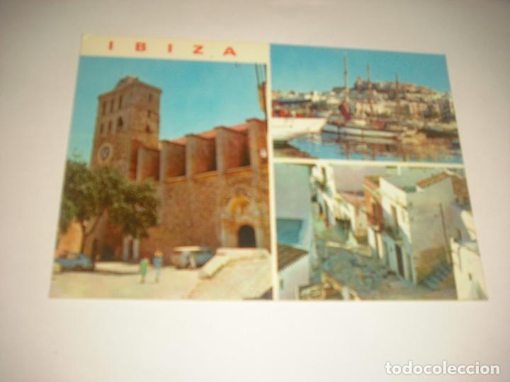 IBIZA 275. DETALLES DE LA CIUDAD .CASA FIGUERETAS , SIN CIRCULAR (Postales - España - Baleares Moderna (desde 1.940))