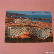 Postales: POSTAL DE MALLORCA. BAHIA DE ALCUDIA. ED. FLOR DE ALMENDRO.. Lote 120070071
