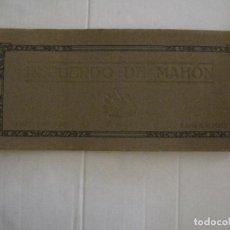 Postales: MAHON-BLOCK LARGO 12 POSTALES ANTIGUAS FOTOGRAFICAS-V. PONS -CON POSTAL PEQUEÑA-VER FOTOS-(V-14.416). Lote 120328463