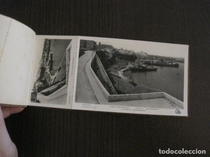 Postales: MAHON-BLOCK LARGO 12 POSTALES ANTIGUAS FOTOGRAFICAS-V. PONS -CON POSTAL PEQUEÑA-VER FOTOS-(V-14.416) - Foto 9 - 120328463