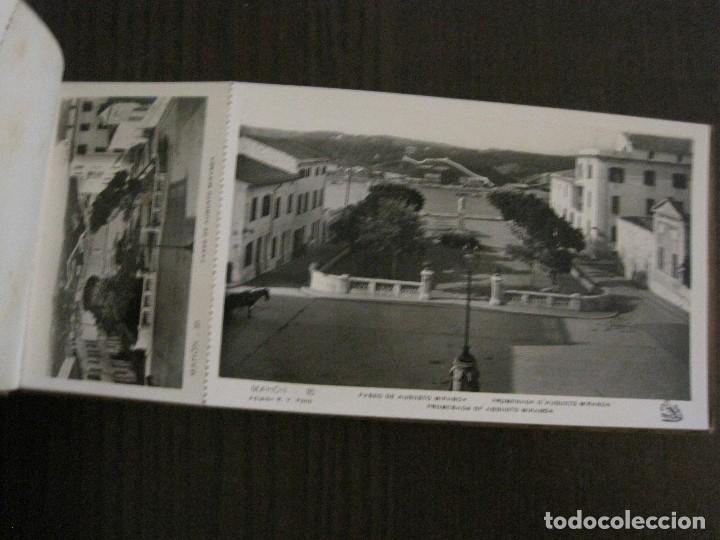 Postales: MAHON-BLOCK LARGO 12 POSTALES ANTIGUAS FOTOGRAFICAS-V. PONS -CON POSTAL PEQUEÑA-VER FOTOS-(V-14.416) - Foto 11 - 120328463