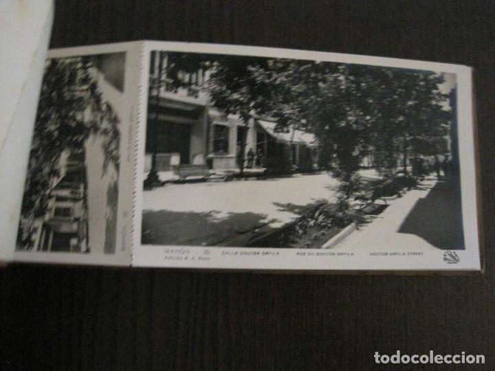 Postales: MAHON-BLOCK LARGO 12 POSTALES ANTIGUAS FOTOGRAFICAS-V. PONS -CON POSTAL PEQUEÑA-VER FOTOS-(V-14.416) - Foto 15 - 120328463